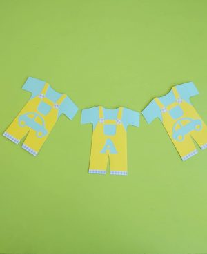 Ghirlanda handmade, produs personalizat